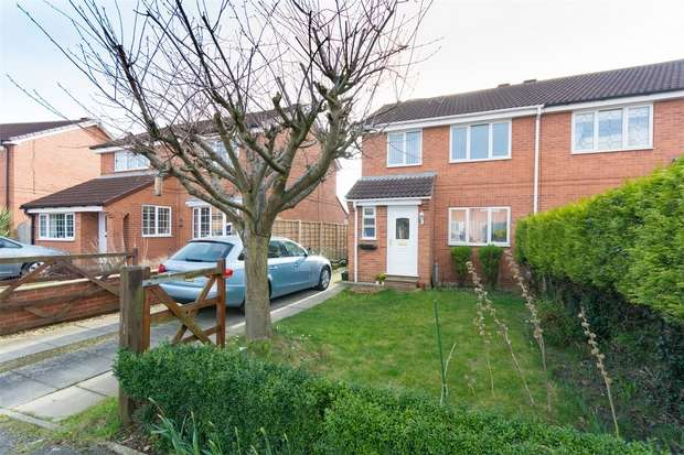 3 Bedrooms Semi Detached House for sale in Ryburn Close, Clifton Moor, YORK
