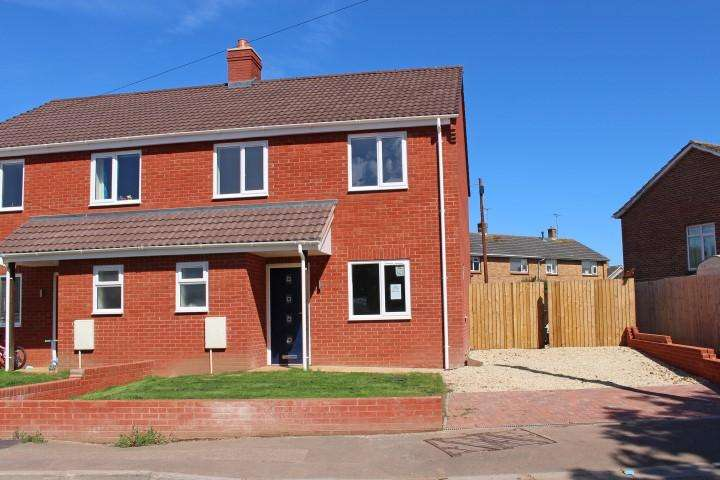 3 Bedrooms Semi Detached House for sale in Liddymore Road, Watchet