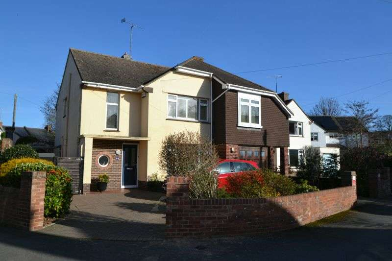 4 Bedrooms Detached House for sale in MONMOUTH AVENUE, TOPSHAM, NR EXETER, DEVON