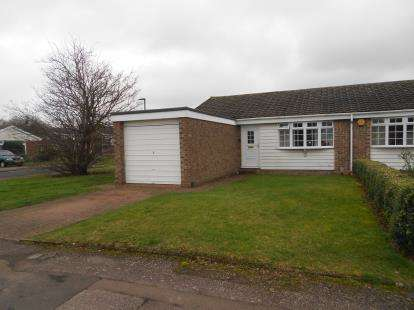 2 Bedrooms Bungalow for sale in Lydford Close, Bedford, Bedfordshire