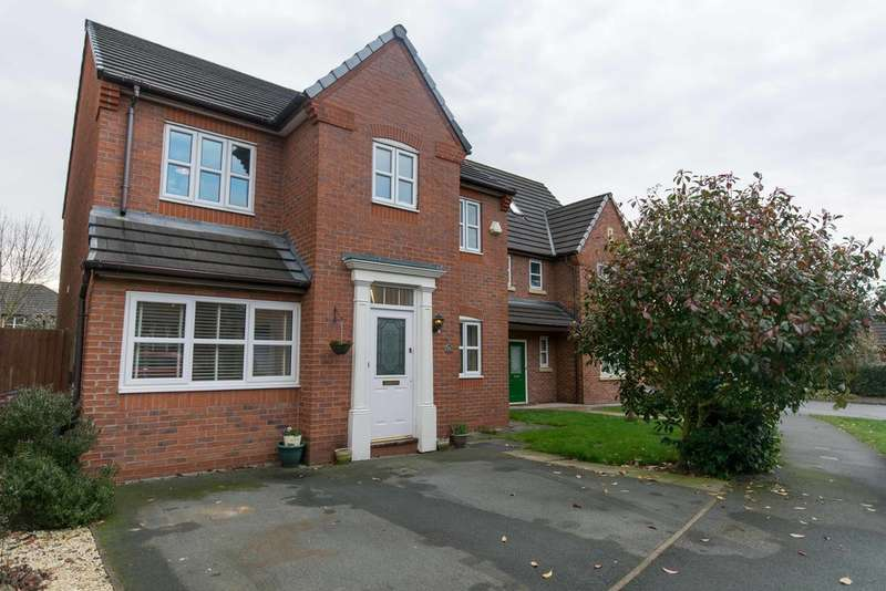 4 Bedrooms Detached House for sale in Tavington Road, Halewood, Liverpool L26
