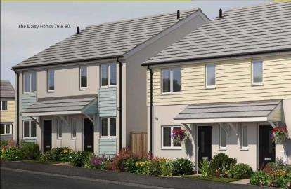 2 Bedrooms Semi Detached House for sale in Church Road, Shortlanesend, Truro