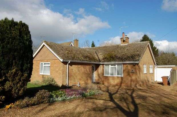 3 Bedrooms Detached Bungalow for sale in West Haddon Road, Guilsborough, Northampton NN6 8QL