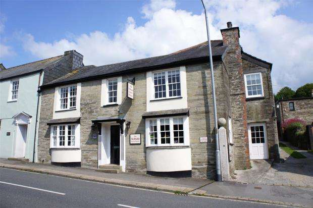 7 Bedrooms End Of Terrace House for sale in Higher Lux Street, Liskeard, Cornwall