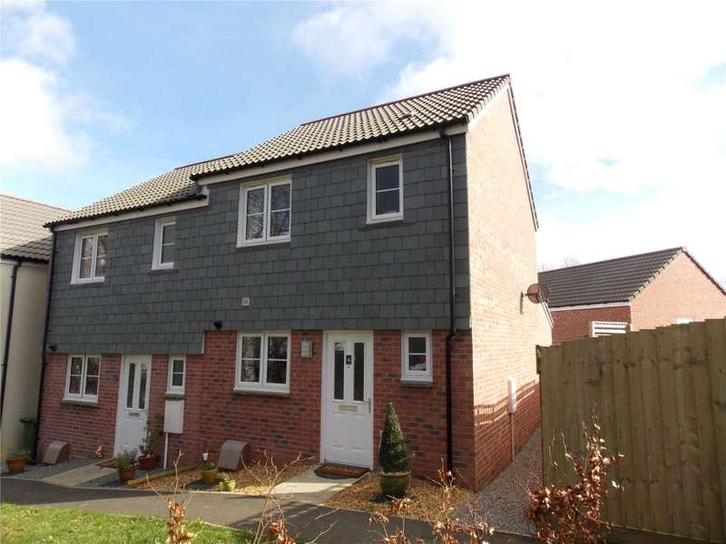 2 Bedrooms Semi Detached House for sale in Nickleby Court, Liskeard, Cornwall