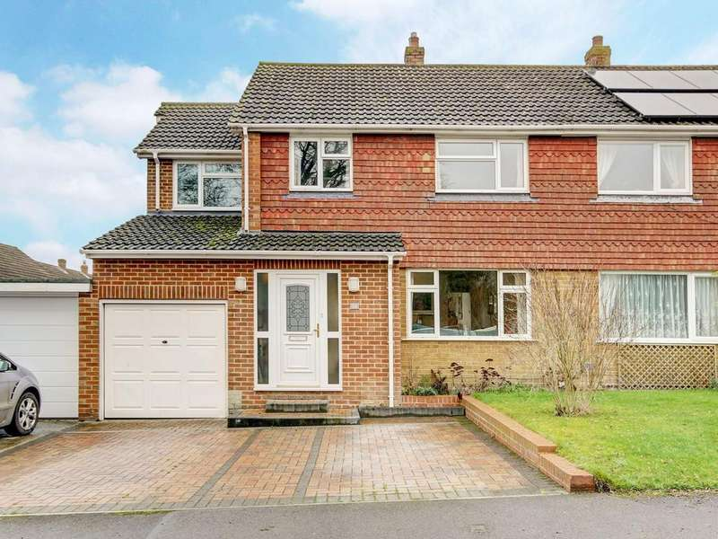 4 Bedrooms Semi Detached House for sale in Hedge Hill Road, East Challow, Wantage, OX12