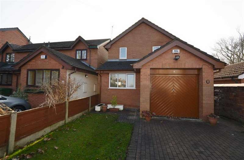 3 Bedrooms Detached House for sale in Brooks Road, OLD TRAFFORD, Manchester