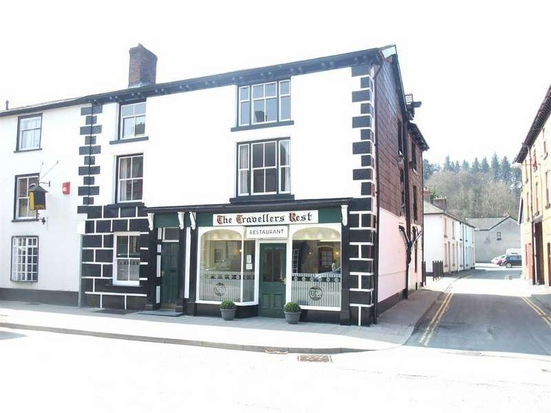 6 Bedrooms End Of Terrace House for sale in The Travellers Rest, 9, Long Bridge Street, Llanidloes, Powys, SY18