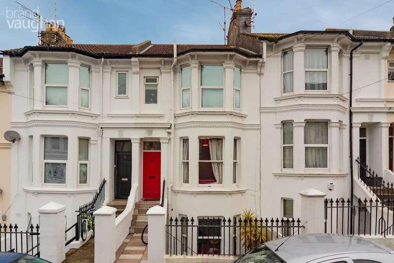 3 Bedrooms Maisonette Flat for sale in Gladstone Place, Brighton, Brighton, BN2