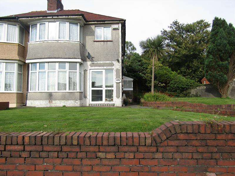 3 Bedrooms Semi Detached House for sale in Pentregethin Road,Ravenhill,Swansea