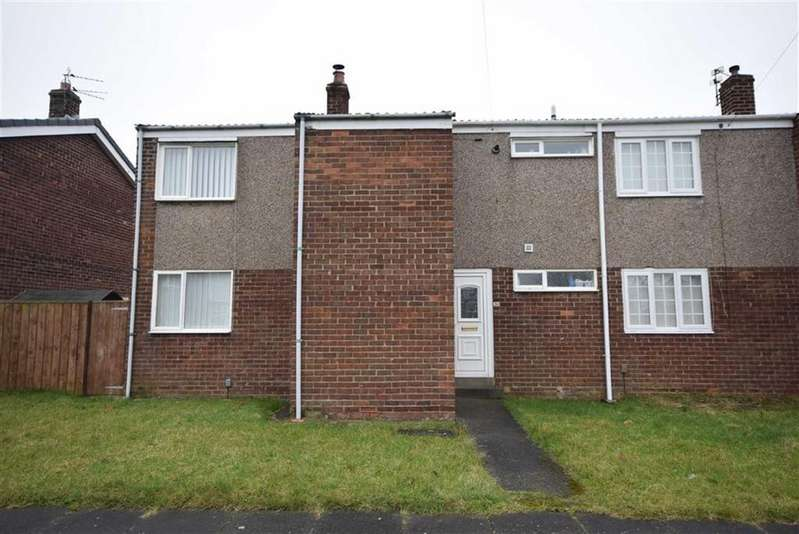 3 Bedrooms End Of Terrace House for sale in Coventry Way, Fellgate, Jarrow