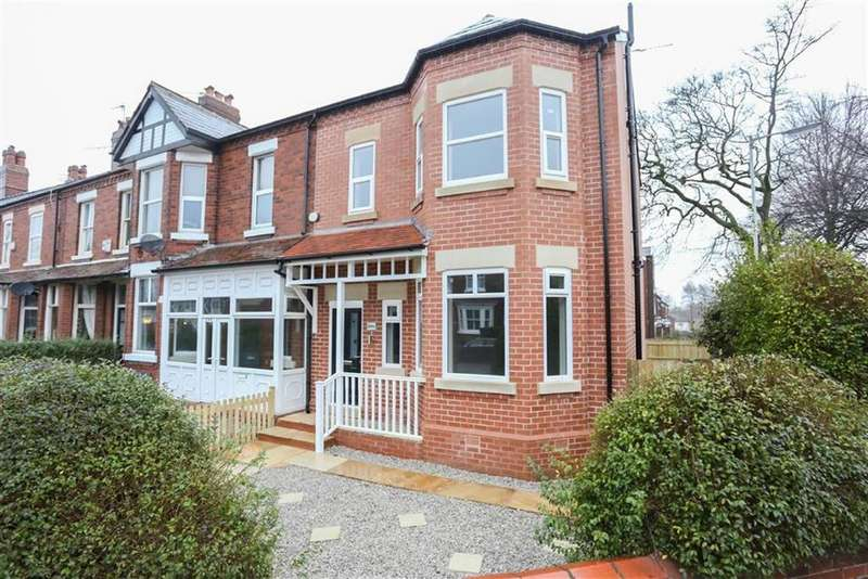 4 Bedrooms End Of Terrace House for sale in Manchester Road, Heaton Chapel