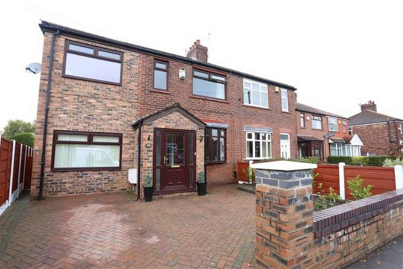 4 Bedrooms Semi Detached House for sale in Briarfield Road, Heaton Chapel