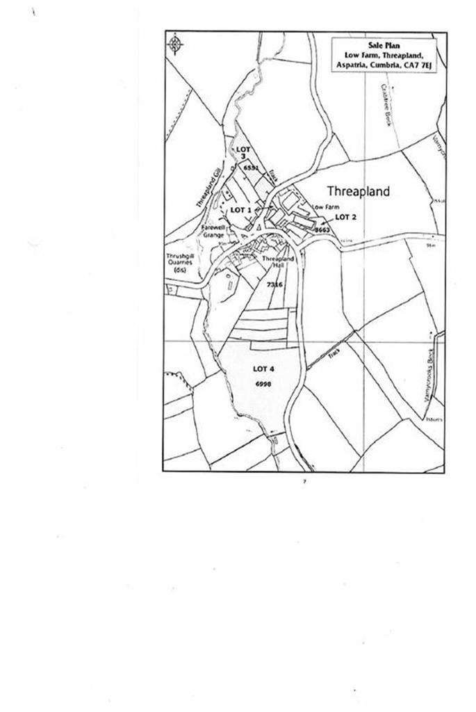 Land Commercial for sale in Threapland, Aspatria, Cumbria