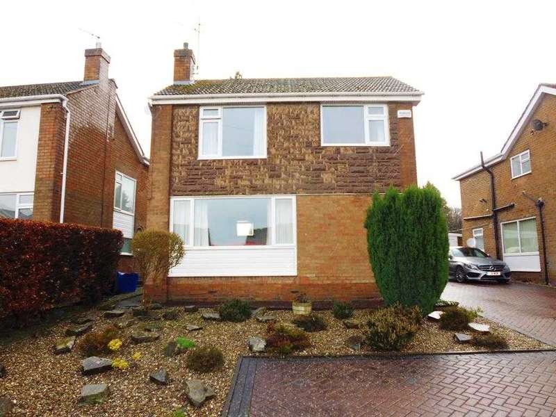 3 Bedrooms Detached House for sale in Belvedere Close, Chesterfield