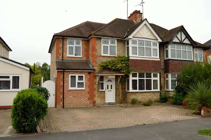 4 Bedrooms Semi Detached House for sale in Erleigh Court Gardens, Earley, Berkshire, RG6 1EH