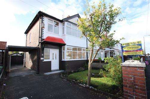 3 Bedrooms Semi Detached House for sale in Queens Drive, St Helens