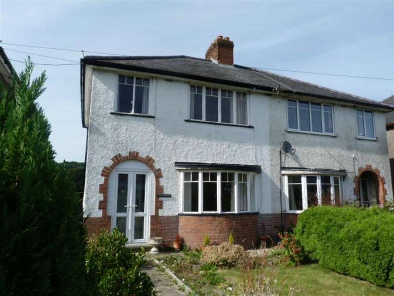 3 Bedrooms Semi Detached House for sale in Llanidloes Road, Newtown