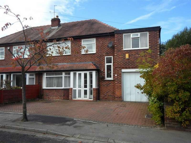 5 Bedrooms Semi Detached House for sale in Borrowdale Avenue, Gatley