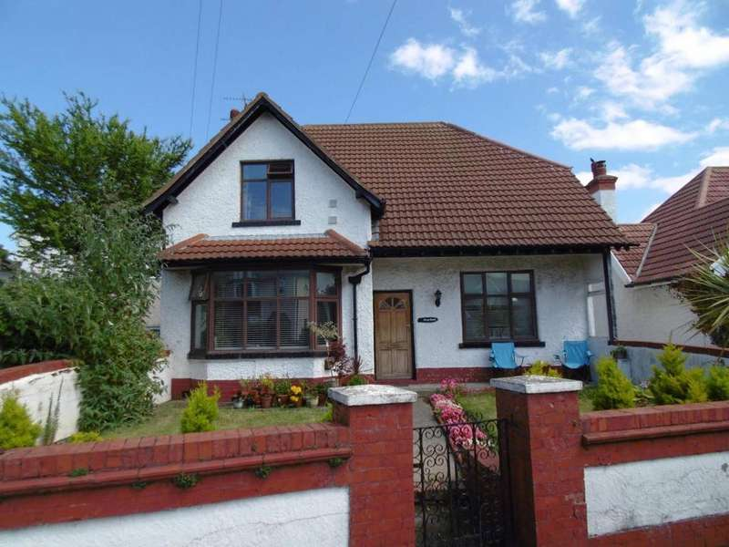 3 Bedrooms Detached House for sale in Ferndale Road, Llandudno Junction, LL31 9NT