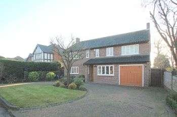 4 Bedrooms Detached House for sale in Oakwood Close, Chislehurst, Kent, BR7 5DD
