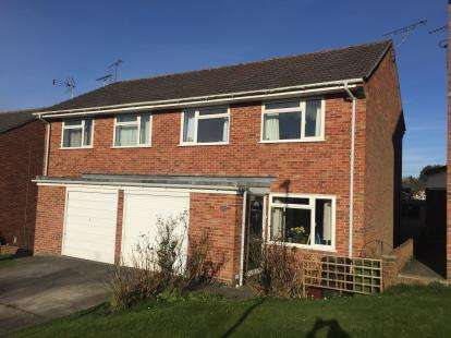 3 Bedrooms Semi Detached House for sale in Yeovil, Somerset, United Kingdom