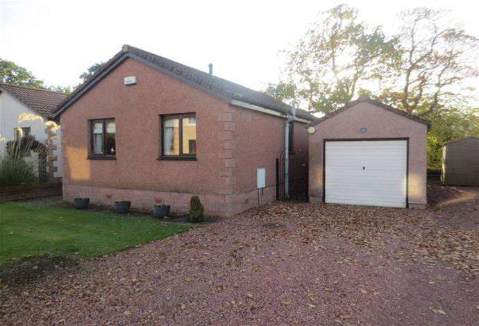 2 Bedrooms Bungalow for sale in 12 Roberts Grove, Galashiels, TD1 2BJ