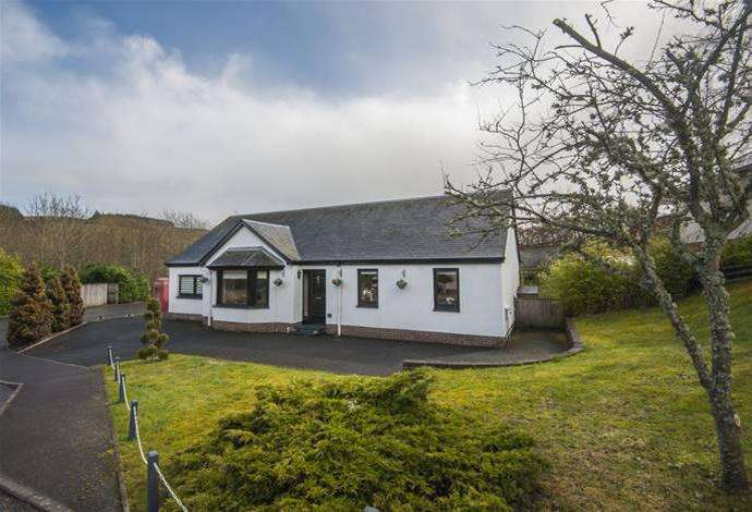 4 Bedrooms Bungalow for sale in Whyalla, 12 Cransfield Drive, Ashkirk, TD7 4NN