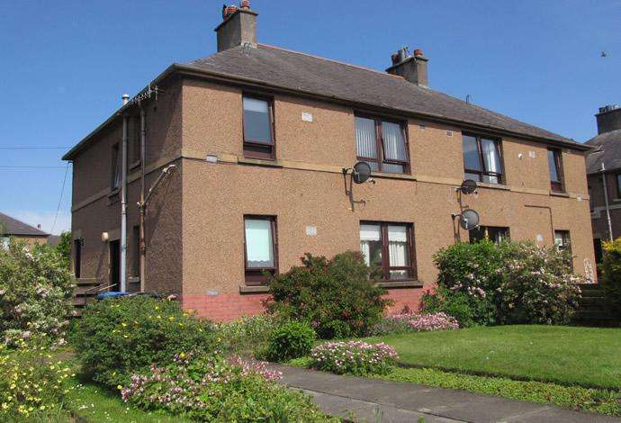 2 Bedrooms Flat for sale in 7 Upper Bongate Gardens, Jedburgh, TD8 6DZ