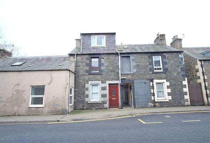 2 Bedrooms Flat for sale in 45 Island Street, Galashiels, TD1 1NZ