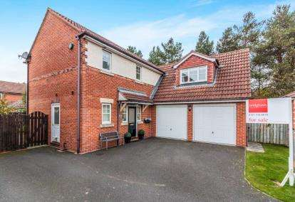 4 Bedrooms Detached House for sale in Ballston Close, Washington, Tyne and Wear, United Kingdom, NE38