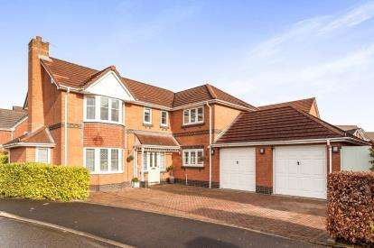5 Bedrooms Detached House for sale in Upton Rocks Avenue, Widnes, Cheshire, Tbc, WA8