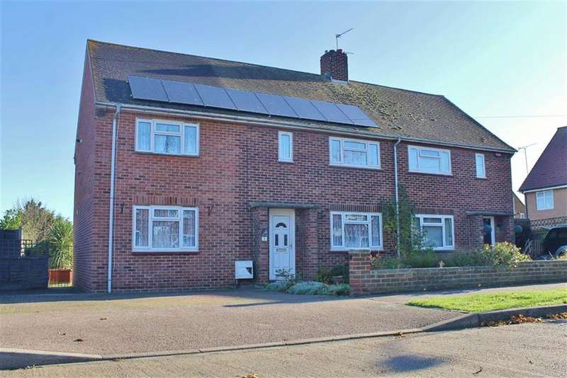 4 Bedrooms Semi Detached House for sale in Quickrells Avenue, Cliffe, Rochester