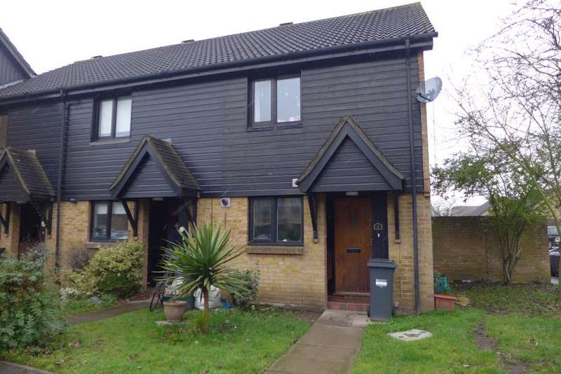 2 Bedrooms End Of Terrace House for sale in Beagle Close, Feltham