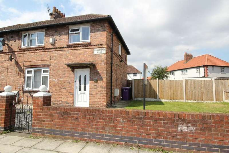 3 Bedrooms Semi Detached House for sale in Wilberforce Road