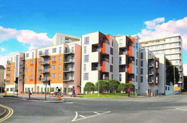 2 Bedrooms Apartment Flat for sale in Vista Park Street, Ashford, TN24