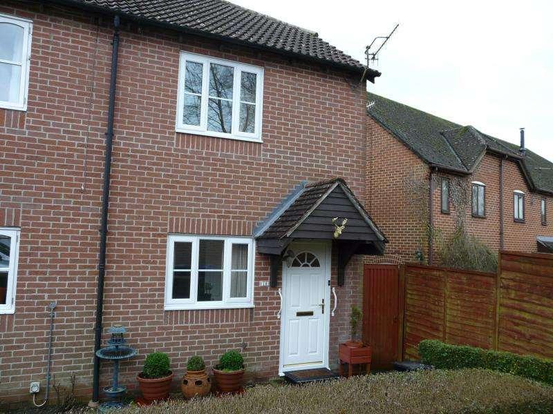 2 Bedrooms Semi Detached House for sale in Great Bedwyn