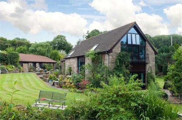 5 Bedrooms Barn Conversion Character Property for sale in Lower Argeod, Shirenewton, Chepstow, NP16