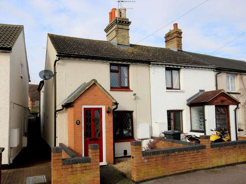 2 Bedrooms End Of Terrace House for sale in Station Road, Flitwick, MK45