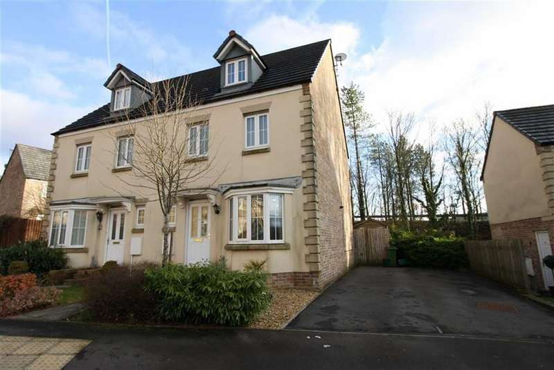 4 Bedrooms Semi Detached House for sale in Denbeigh Court, Hirwaun, Aberdare, Mid Glamorgan