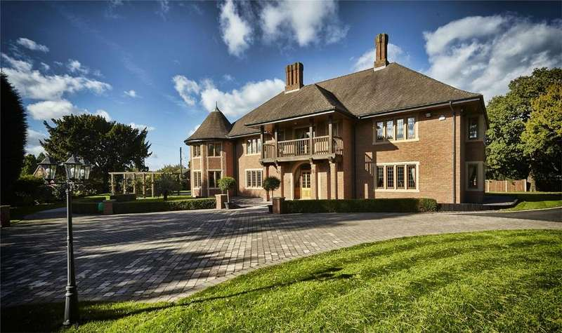6 Bedrooms Detached House for sale in Uttoxeter Road, Hill Ridware, Rugeley, Staffordshire