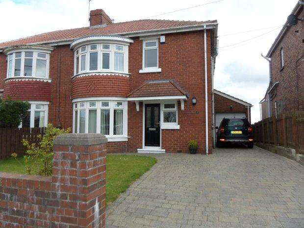 3 Bedrooms Semi Detached House for sale in WEST LANE, TRIMDON VILLAGE, SEDGEFIELD DISTRICT