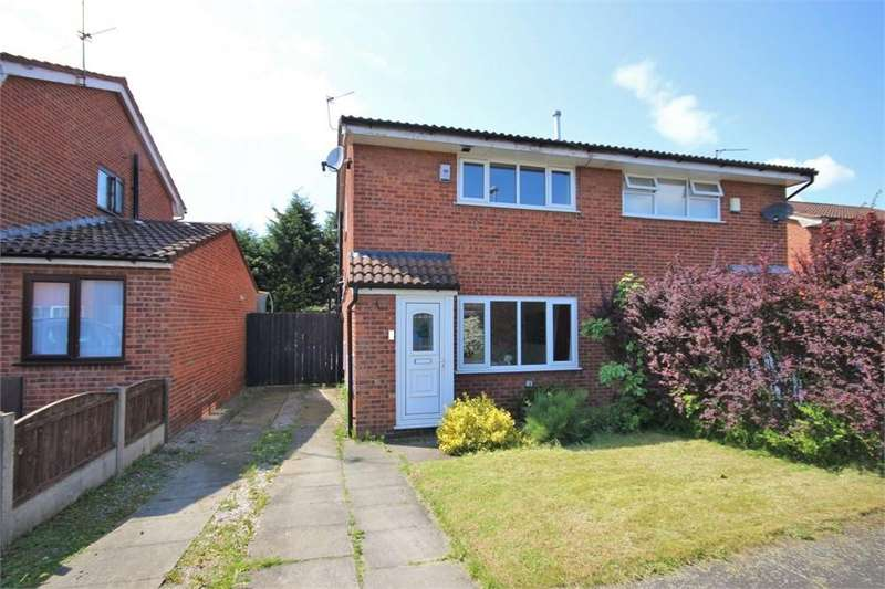 2 Bedrooms Semi Detached House for sale in Tiverton Close, WIDNES, Cheshire