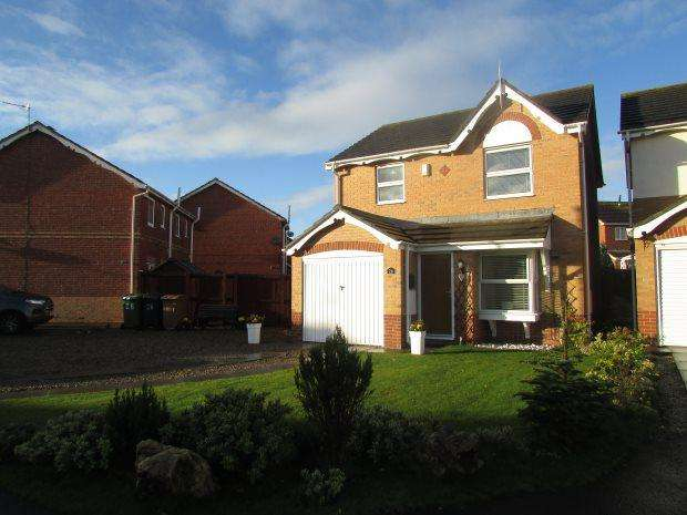 3 Bedrooms Detached House for sale in TEMPLETON CLOSE, HIGHFIELDS, HARTLEPOOL