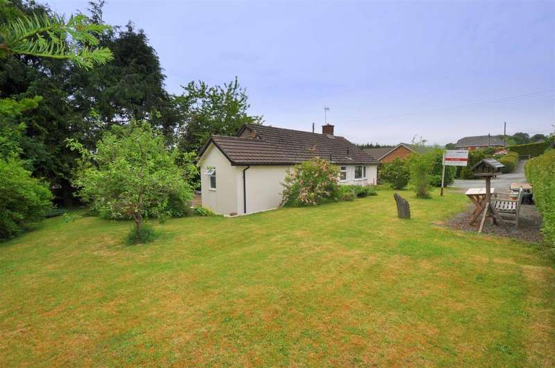 3 Bedrooms Detached Bungalow for sale in Y Maes, Rhayader