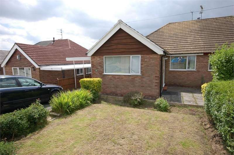 2 Bedrooms Semi Detached Bungalow for sale in 8 Conway Drive, Billinge, WIGAN, Merseyside