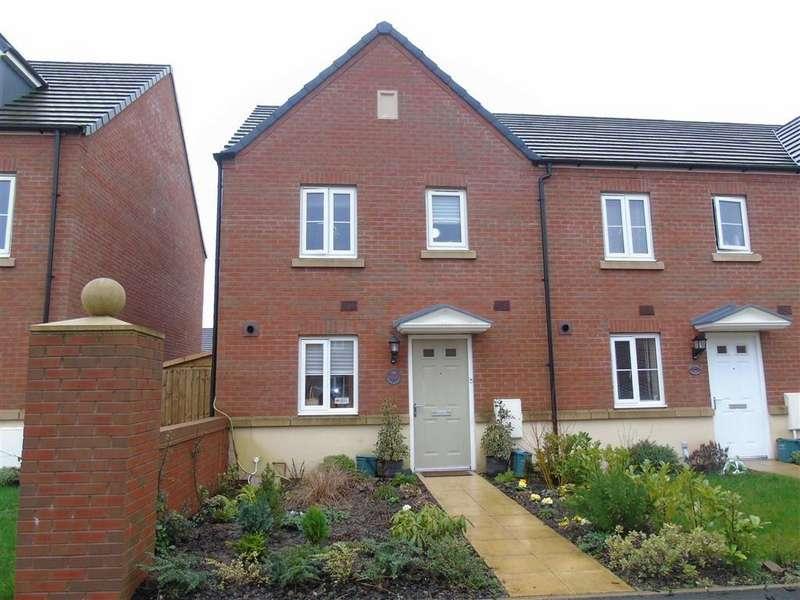 3 Bedrooms End Of Terrace House for sale in Stryd Bennett, Stradey, Llanelli