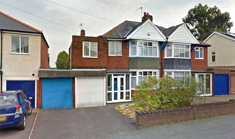 4 Bedrooms Semi Detached House for sale in Olive Hill Road, HALESOWEN, West Midlands