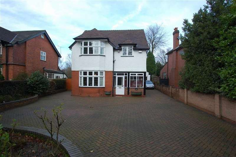 4 Bedrooms Detached House for sale in Bramhall Lane South, Bramhall, Cheshire