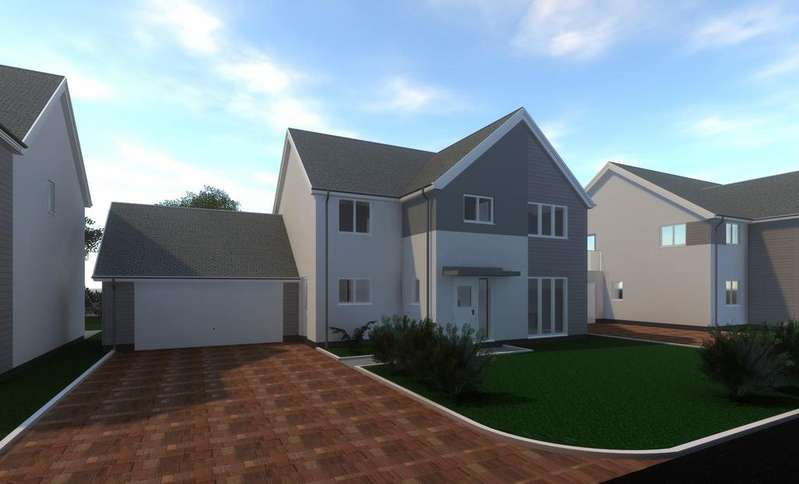4 Bedrooms Detached House for sale in The Lawns, Mount Sandford Green, Barnstaple